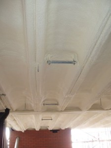 Car Park Soffit Insulation